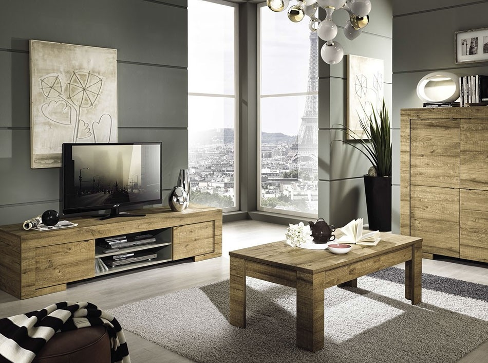 Great Premium Coffee Table And Tv Unit Sets Throughout Modern Tv Stand Milano Lc Mobili (Image 26 of 50)