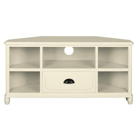 Great Premium Cream TV Cabinets Within Devon Cream Corner Tv Unit Dunelm 14999 For The Home (Image 20 of 50)