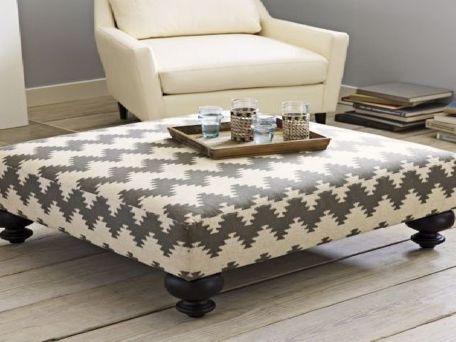 Great Premium Footstool Coffee Tables Inside Padded Coffee Table Home Design Architecture (Image 19 of 40)