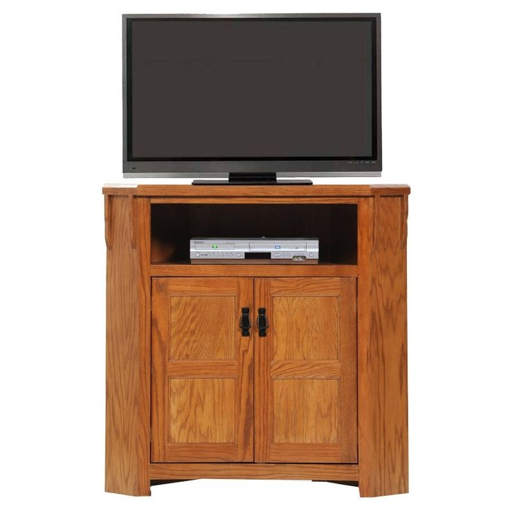 Great Premium Light Oak Corner TV Cabinets Regarding The 25 Best Oak Corner Tv Stand Ideas On Pinterest Corner Tv (Image 30 of 50)