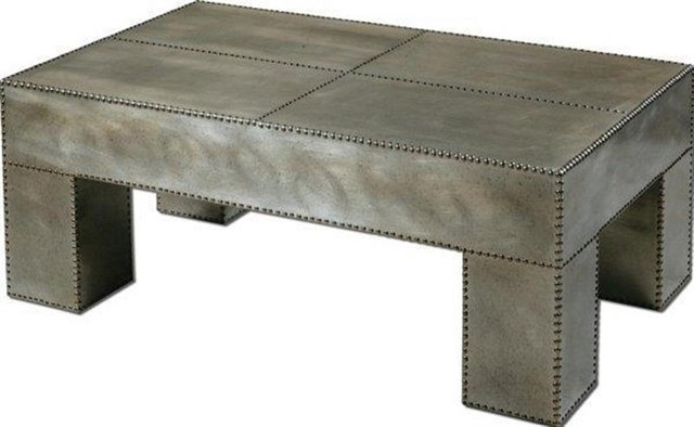 Great Premium Metal Coffee Tables With Regard To Baxton Studio Genesis Steel Tinted Glass Modern Coffee Table (Image 27 of 50)