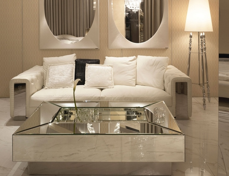 Great Premium Small Mirrored Coffee Tables With Regard To Best 20 Mirrored Coffee Tables Ideas On Pinterest Home Living (View 18 of 50)