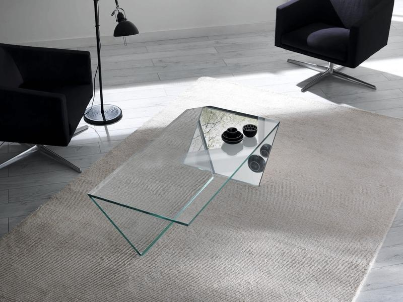 Great Premium Swirl Glass Coffee Tables Pertaining To 15 Contemporary Glass Coffee Table Designs Rilane (Image 27 of 50)