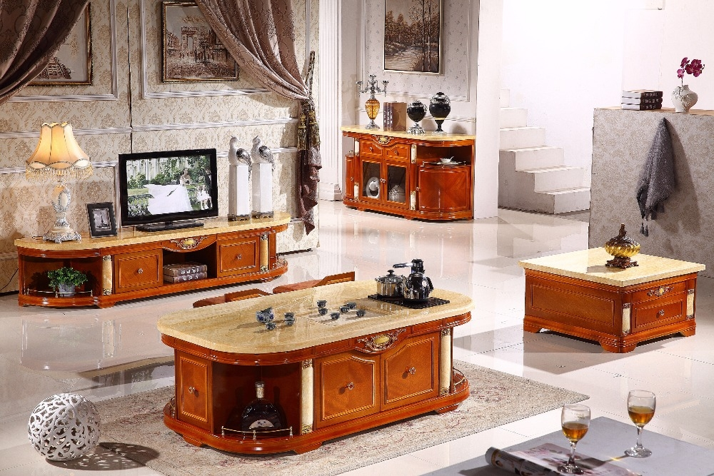 Great Premium TV Stands Coffee Table Sets Intended For Online Get Cheap Wooden Tv Tables Aliexpress Alibaba Group (Image 22 of 50)