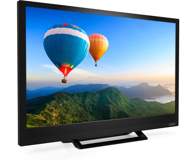 Great Premium Vizio 24 Inch TV Stands Pertaining To Vizio D Series 24 Class Edge Lit Ledsupsup Tv D24hn D (Image 23 of 50)
