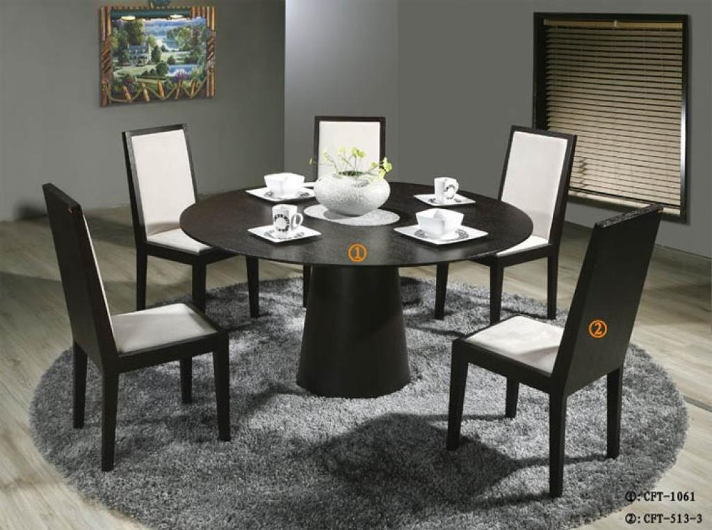 Great Round Dining Table For 6 6 Person Dining Table 6 Person Intended For 6 Person Round Dining Tables (Image 13 of 20)