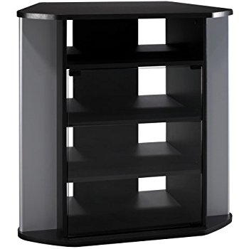 Great Series Of Cornet TV Stands For Amazon Black Corner Tv Stand Kitchen Dining (View 21 of 50)