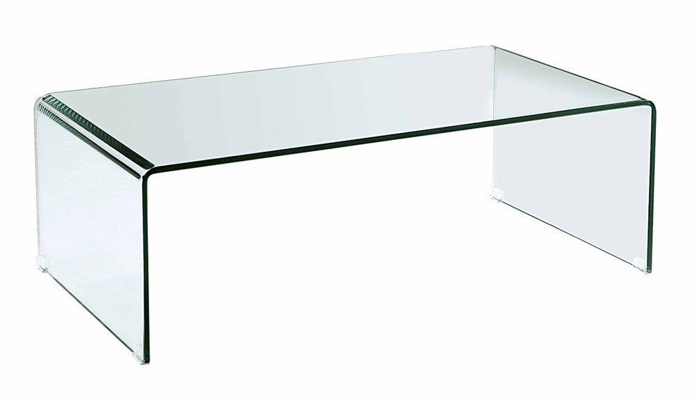 Great Series Of Curved Glass Coffee Tables Within Bent Glass Coffee Table Cr2010 Coffee Tables (Image 22 of 50)