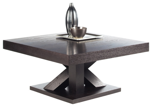 Great Series Of Espresso Coffee Tables With Regard To Madero Espresso Coffee Table Transitional Coffee Tables (View 7 of 50)