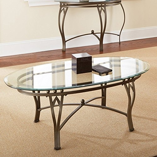 Great Series Of Metal Oval Coffee Tables Regarding Oval Coffee Table Metal Amazon (View 38 of 50)