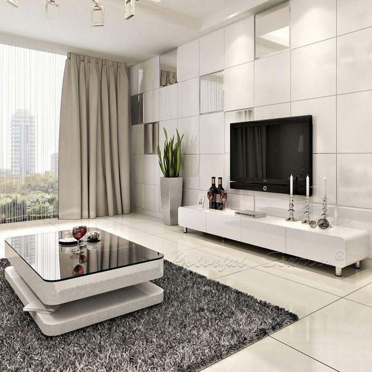 Great Series Of Modern White Gloss TV Stands Regarding 2015 Modern High Gloss White Lcd Tv Cabinet Design Buy Modern (View 32 of 50)