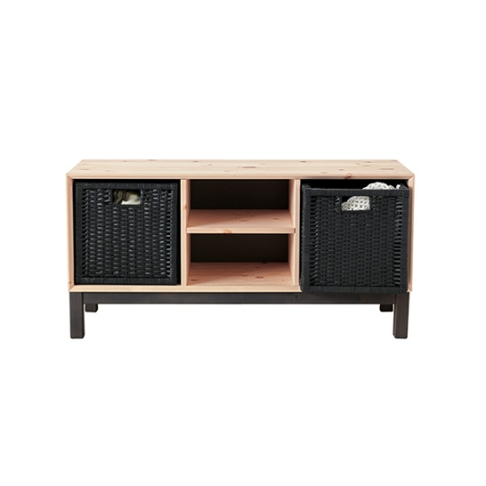 Great Series Of Rectangular TV Stands For Ikea Nornas Tv Stand Tv Stands Ikea Modern (Image 25 of 50)