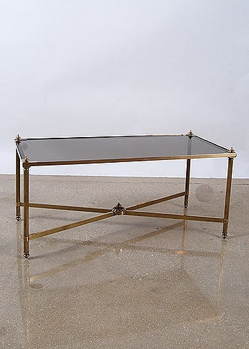 Great Series Of Retro Smoked Glass Coffee Tables For Antique Table French Antique Table Alhambra Antiques (View 28 of 40)