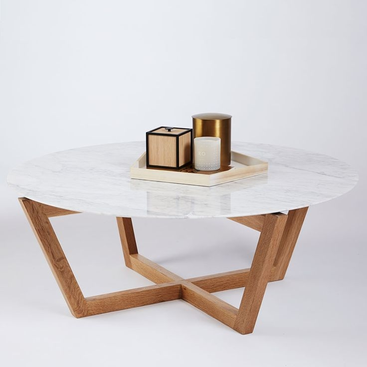 Great Series Of White Circle Coffee Tables For Best 25 Round Coffee Table Diy Ideas That You Will Like On (Image 18 of 50)