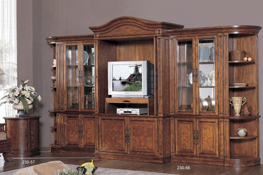 Great Series Of Wooden TV Cabinets Intended For Classical Wooden Tv Cabinetstandwall China Manufacturer (View 45 of 50)