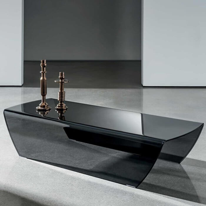 Great Top Dark Glass Coffee Tables Intended For Glass Coffee Table (Image 31 of 50)