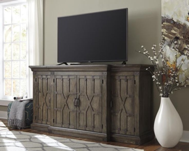 Great Top Grey Wood TV Stands With Regard To Best 10 Large Tv Stands Ideas On Pinterest Diy Tv Stand Tv (Image 32 of 50)