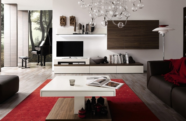 Great Top Luxury TV Stands Within Tv Stand Furniture With Wooden Wall Unit Hulsta Home Design (Image 25 of 50)