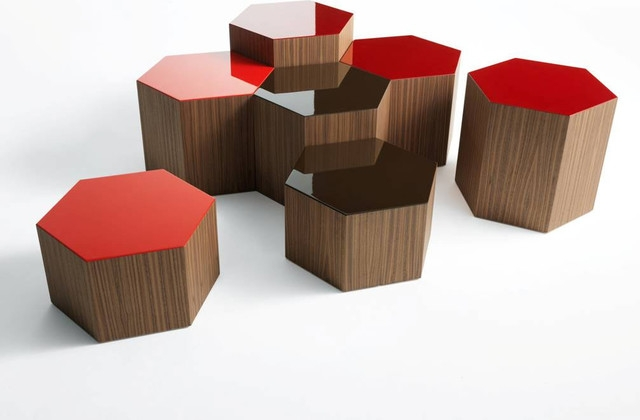 Great Top Puzzle Coffee Tables Pertaining To Six Coffee Table Bross Italy Contemporary Living Room (View 39 of 40)