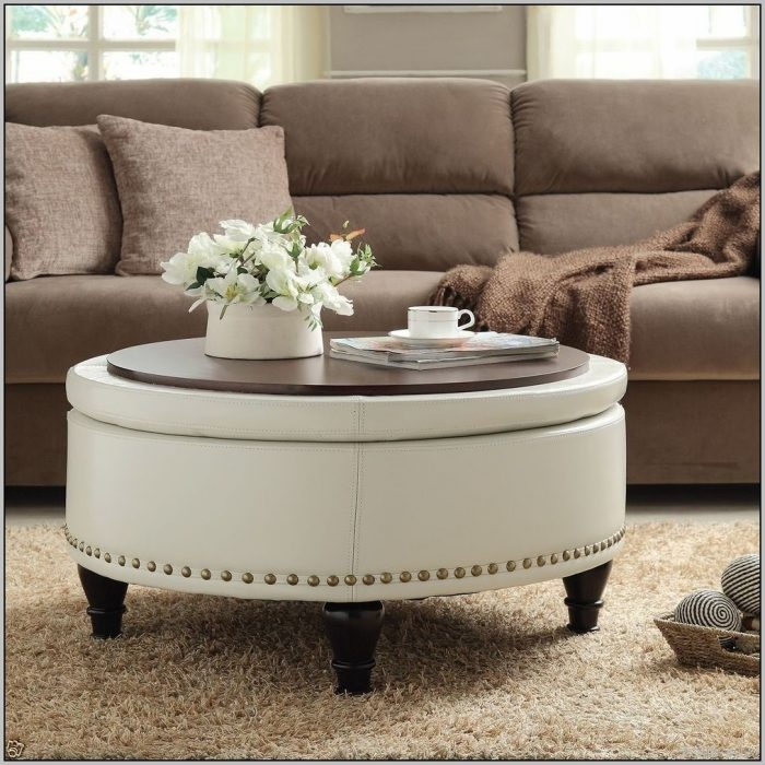 Great Top Round Tray Coffee Tables Inside Awesome Round Tray Coffee Table With Coffee Tables Design Brass (Image 25 of 50)