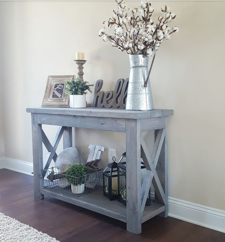 Great Top Rustic Coffee Tables With Bottom Shelf Regarding Best 25 Rustic Sofa Tables Ideas On Pinterest Natural (View 32 of 50)