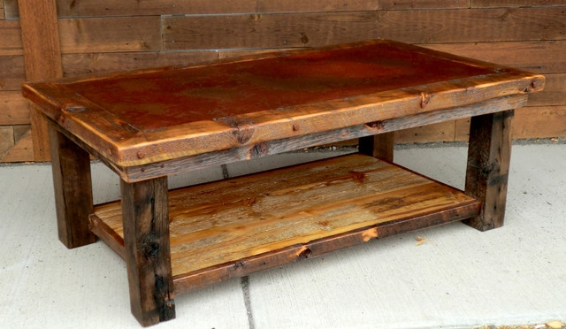 Great Top Rustic Wood DIY Coffee Tables Intended For Luxury Rustic Coffee Tables Cheap (Image 22 of 50)