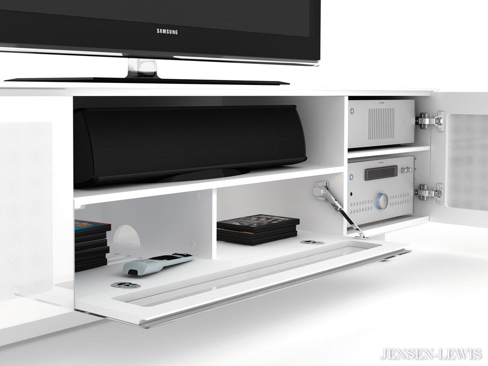 Great Top White Gloss Oval TV Stands Inside Black Gloss Tv Cabinets White Tv Unit Modern Media Cabinet Ikea (View 30 of 50)