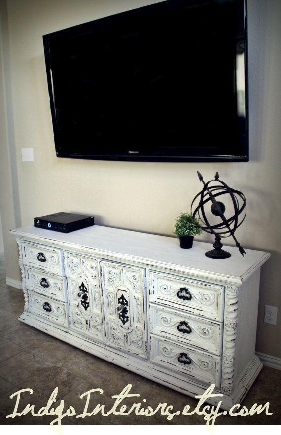 Great Top White Oval TV Stands For Best 25 White Tv Stands Ideas On Pinterest Tv Stand Furniture (Image 25 of 50)