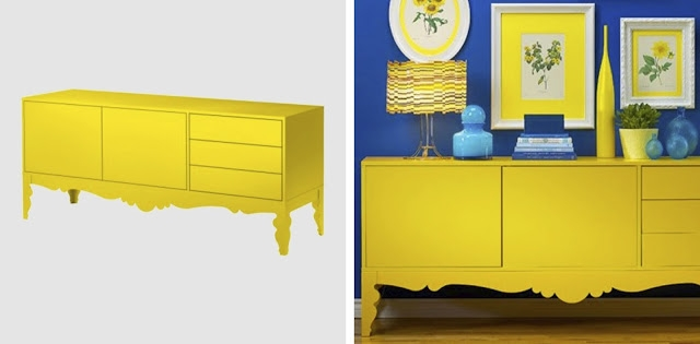 Great Top Yellow TV Stands In Vintage Minded Maven New Tv Stand Upcycled Furnishings (View 7 of 50)