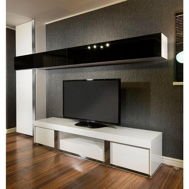Great Trendy All Modern TV Stands Intended For Furniture 55 Inch Corner Tv Stand Flat Screen All Modern Tv (Image 32 of 50)