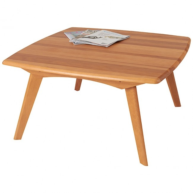 Great Trendy Beech Coffee Tables With Regard To Solid Wood Tables Accent Coffee Tables Manchesterwood (Image 20 of 50)