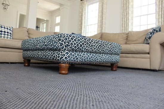 Great Trendy Leopard Ottoman Coffee Tables With Regard To Ufabulous Home Tour Cat On A Hot Tin Roof (View 3 of 40)