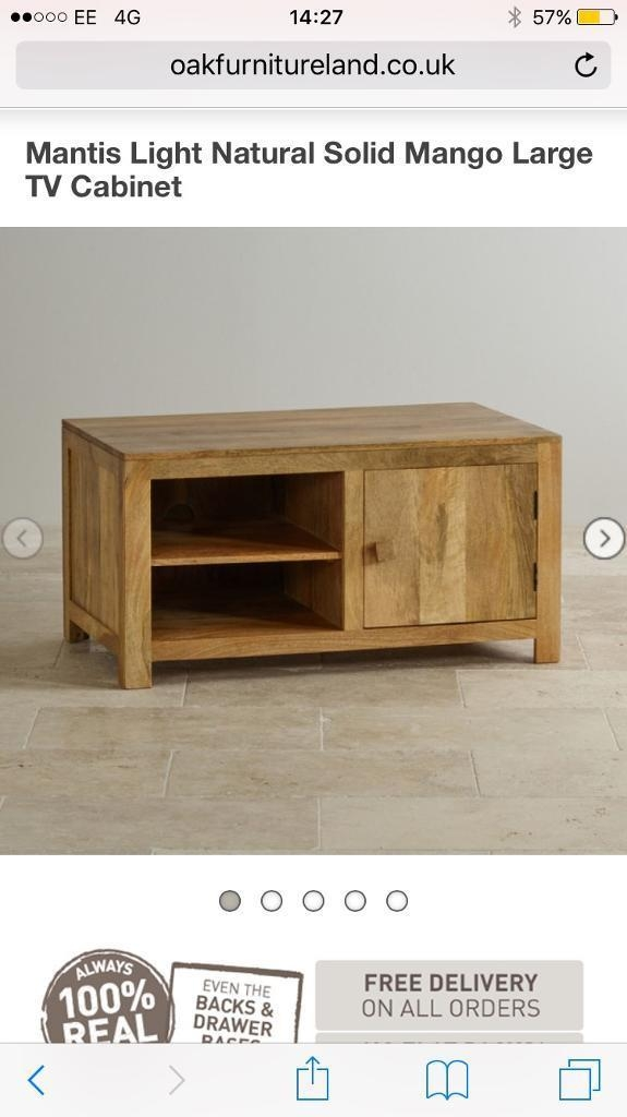 Great Trendy Mango Wood TV Cabinets In Solid Mango Wood Tv Cabinet In Guisborough North Yorkshire (Image 23 of 50)