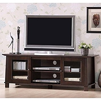 Great Trendy Modern Plasma TV Stands In Amazon Baxton Studio Havana Wood Modern Plasma Tv Stand (View 18 of 50)