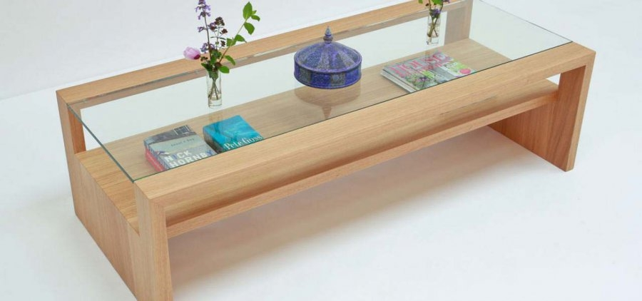 Featured Image of Oak And Glass Coffee Tables