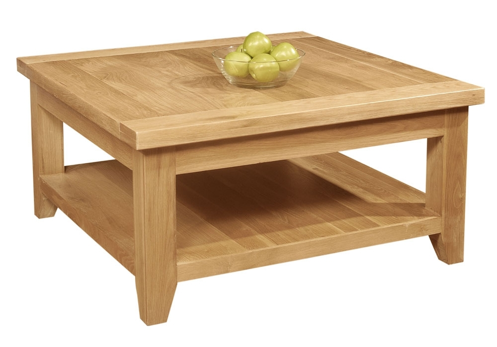 Great Trendy Oak Coffee Table With Shelf With Oak Coffee Table Caring And Maintenance Tips Best Home Magazine (View 11 of 50)