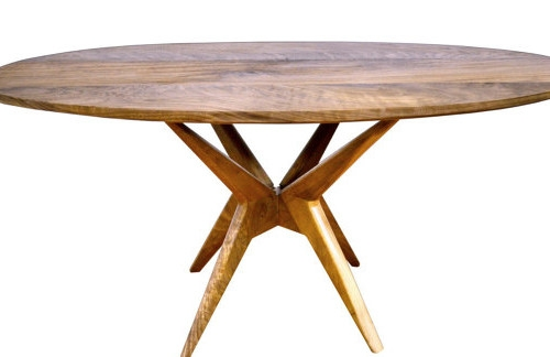 Great Trendy Oval Walnut Coffee Tables In Vermont Mid Century Modern Furniture (Image 24 of 50)