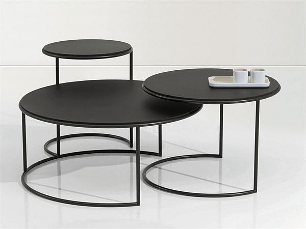 Great Trendy Round Steel Coffee Tables With Regard To Creative Of Round Iron Coffee Table Round Metal Coffee Table With (Image 23 of 50)