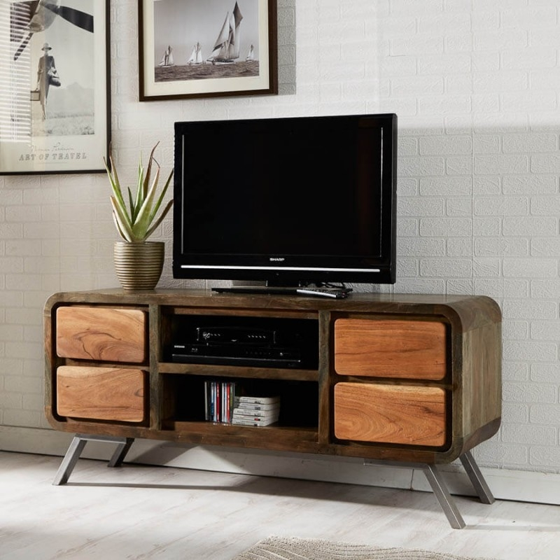 Great Trendy Unusual TV Cabinets Intended For Cheap Tv Units And Tv Stands Unusual Funky Retro Tv Units (Image 24 of 50)