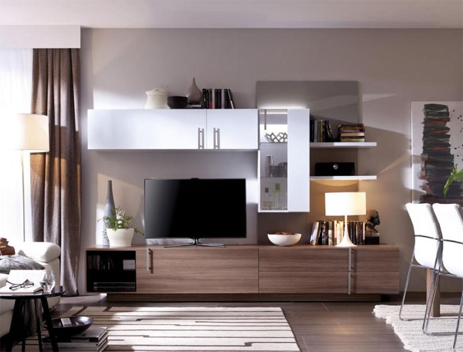 Great Trendy Wall Display Units & TV Cabinets Throughout Idea Mirror Backing For Our First Nest Pinterest Nest And (View 14 of 50)