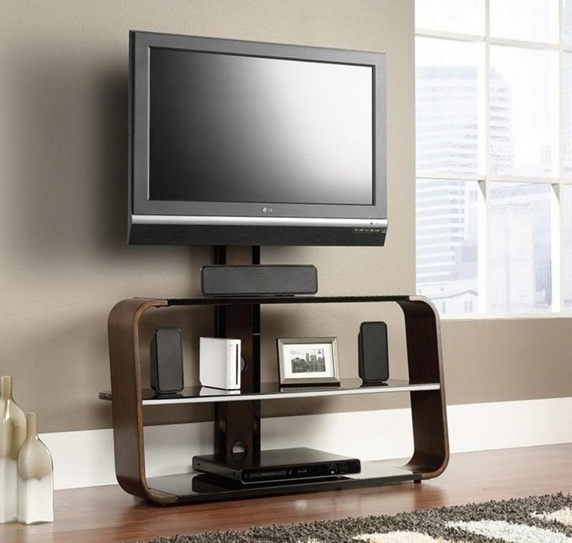 Great Trendy Wall Mounted TV Stands For Flat Screens Regarding Interior Design Ideas For Wall Mounted Tv Nytexas (Image 16 of 50)