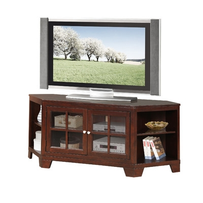 Great Trendy Wayfair Corner TV Stands Throughout Three Posts Kostonian Corner Tv Stand Reviews Wayfair (View 43 of 50)