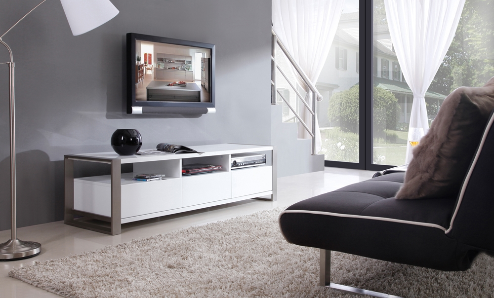 Great Trendy White High Gloss TV Stands With Regard To B Modern Stylist Tv Stand White High Gloss B Modern Modern (Image 29 of 50)