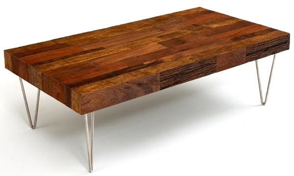 Great Trendy Wood Modern Coffee Tables Intended For Modern Rustic Coffee Table Ecustomfinishes Rustic Modern Coffee (Image 22 of 50)