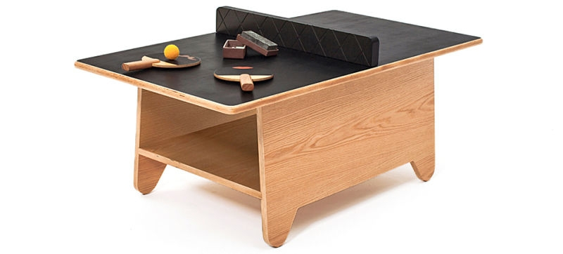 Great Unique Coffee Tables With Magazine Storage With Coffee Table Ping Pong Is More Entertaining Than A Stack Of Magazines (Image 21 of 50)