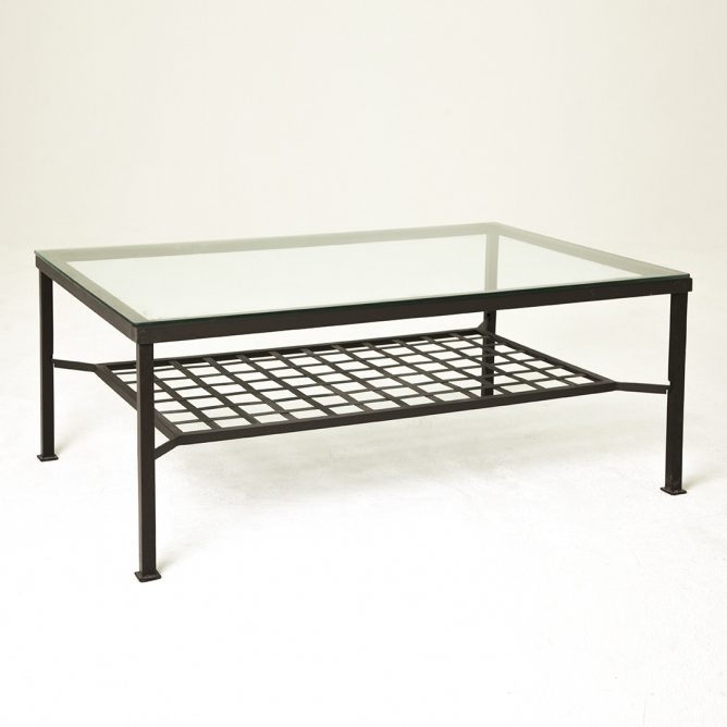 Great Unique Metal And Glass Coffee Tables Pertaining To Mirrored Coffee Table As Square Coffee Table And Trend Metal And (View 10 of 50)