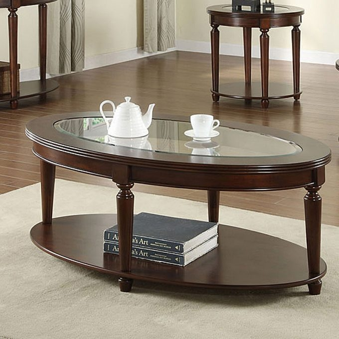 Great Unique Oval Wood Coffee Tables In Furniture Awesome Oval Coffee Table For Your Living Room Design (Image 28 of 50)