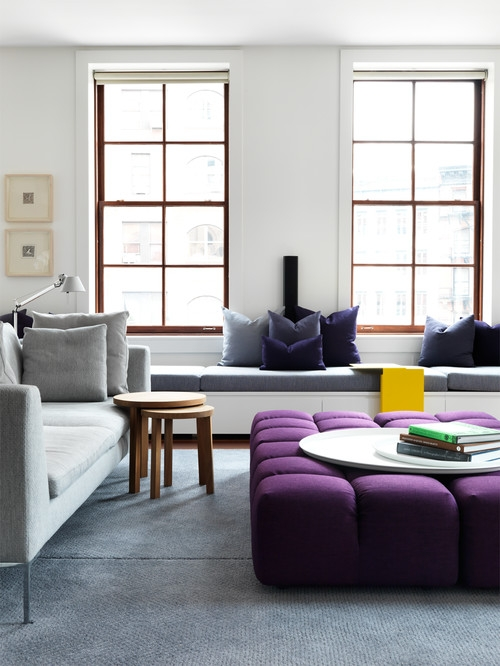 Great Unique Purple Ottoman Coffee Tables Regarding Purple Ottoman (Image 14 of 40)