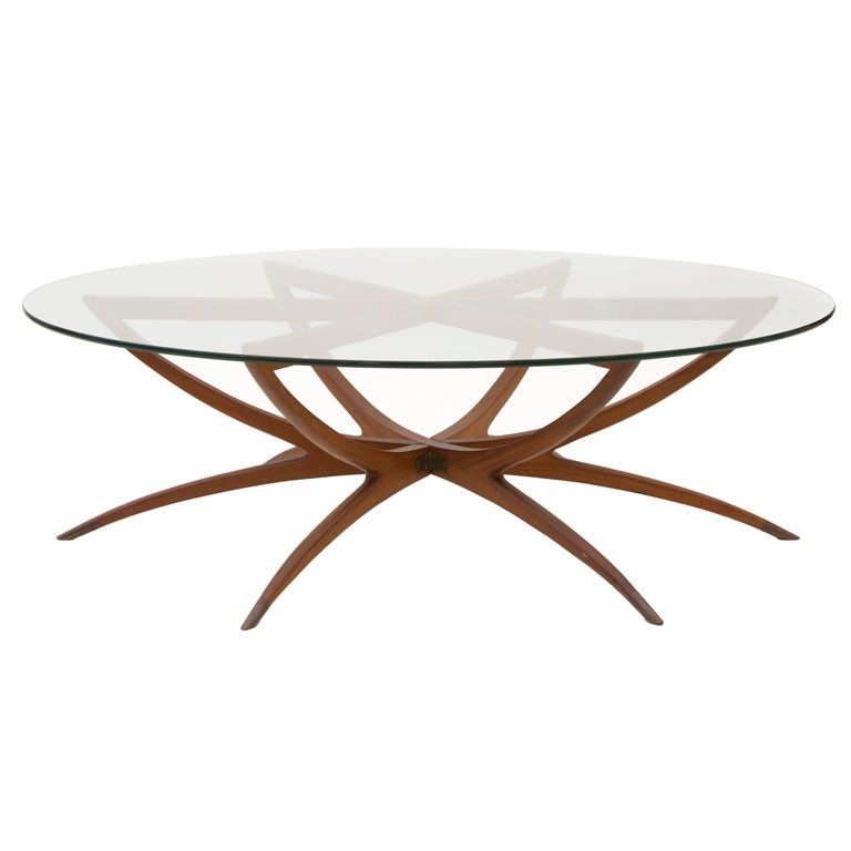 Great Unique Round Glass And Wood Coffee Tables With Round Glass Top Coffee Table (Image 25 of 50)