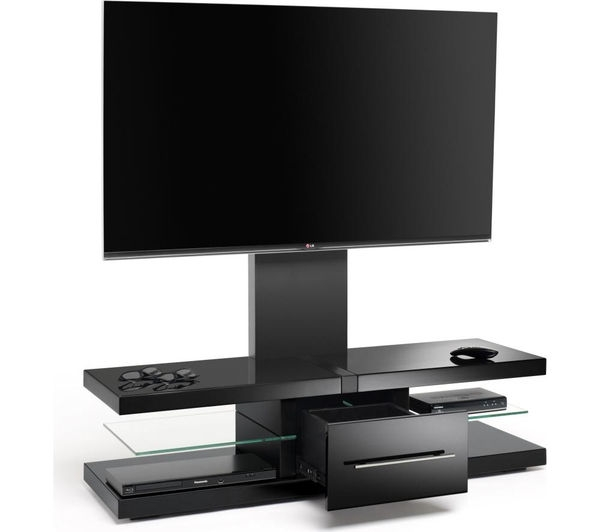Great Unique Techlink Echo Ec130tvb TV Stands With Regard To Buy Techlink Echo Ec130tvb Tv Stand With Bracket Free Delivery (Image 22 of 50)